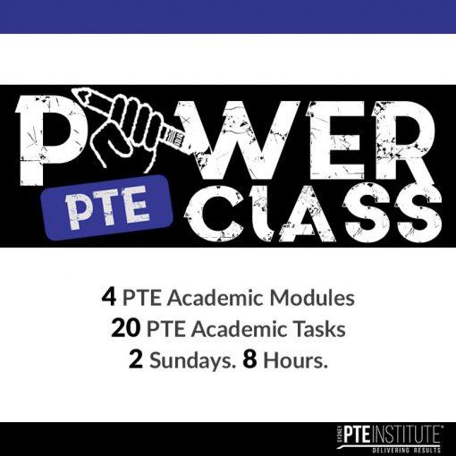 PTE Power Class